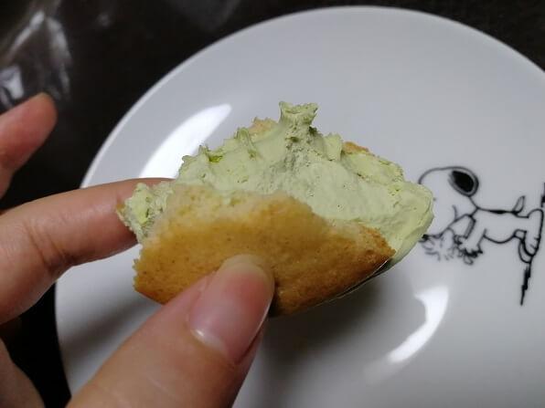 サクバタの下半分をさらに食べる